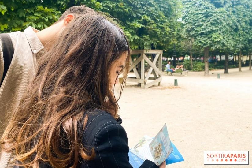 Secret d'Arcadie, jeu de l'été au jardin des Tuileries